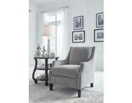 Signature Design by Ashley Tiarella Collection Accent Chair in Ash 72901