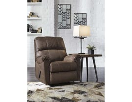 Signature Design by Ashley Narzole Series Rocker Recliner in Coffee 7440225