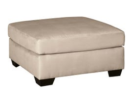 Signature Design by Ashley Darcy Collection Oversized Accent Ottoman in Stone 7500008