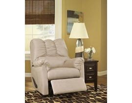 Signature Design by Ashley fabric Rocker Recliner Darcy in stone beige 7500025