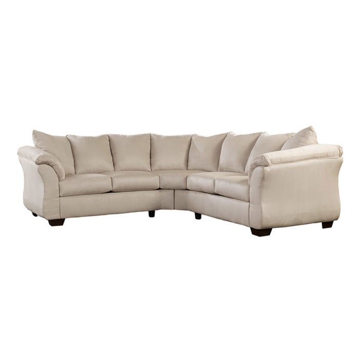 Signature Design by Ashley 2-Piece Sectional in beige 75000S1