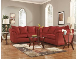 Signature Design by Ashley 2-Piece Sectional in Salsa red 75001S1