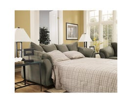 Signature Design by Ashley Darcy Series Full Sofa Sleeper in Sage finish 7500336