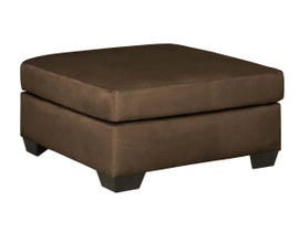 Signature Design by Ashley Oversized Accent Ottoman in Cafe  7500408