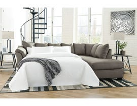 Signature Design by Ashley 2-Piece Sectional with Chaise and Sleeper in Cobblestone 75005S3