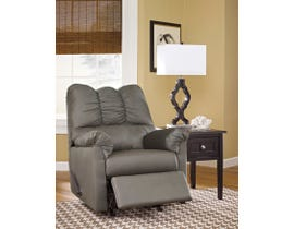 Signature Design by Ashley fabric Rocker Recliner Darcy in grey 7500525