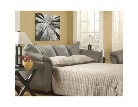 Signature Design by Ashley Darcy Series Full Sofa Sleeper in Cobblestone finish 7500536