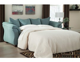 Signature Design by Ashley Darcy Series Full Sofa Sleeper in Sky finish 7500636