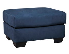 Signature Design by Ashely Darcy Series Oversized Accent Ottoman in blue 7500708
