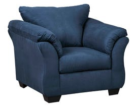 Signature Design by Ashely Darcy Series Chair in blue 75007-20