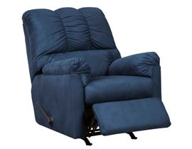Signature Design by Ashely Darcy Series Rocker Recliner in blue 75007-25