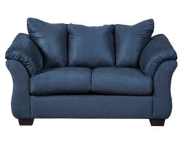 Signature Design by Ashely Darcy Series Loveseat in blue 75007-35