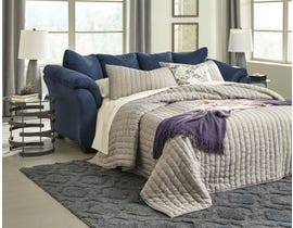 Signature Design by Ashely Darcy Series Full Sofa Sleeper in blue 75007-36