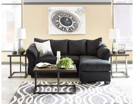 Signature Design by Ashley Sofa Chaise in Black 7500818