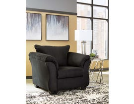 Signature Design by Ashley Fabric Chair in Black 7500820