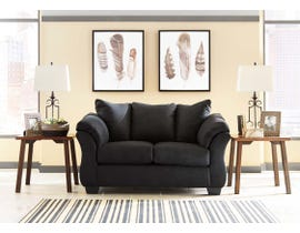 Signature Design by Ashley Loveseat in Black 7500835