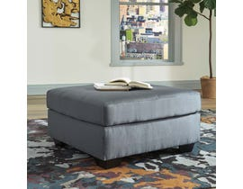 Signature Design by Ashley Oversized Accent Ottoman in Steel 7500908