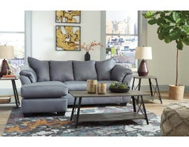 Signature Design by Ashley Sofa Chaise in Steel 7500918