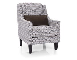 Decor-Rest Rico Collection Accent Chair in Pewter 2967