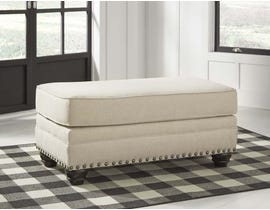Signature Design by Ashley Harrietson Series Ottoman in Shell 7660414