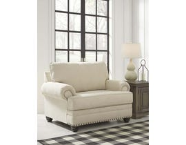 Signature Design by Ashley Harrietson Series Chair and a Half in Shell 7660423