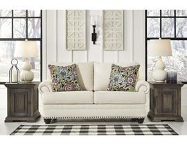 Signature Design by Ashley Harrietson Series Loveseat in Shell 7660435