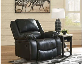 Signature Design by Ashley Calderwall Series Rocker Recliner in Black 7710125