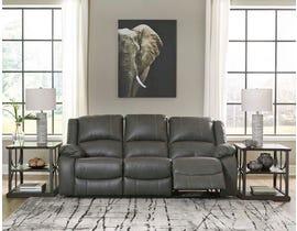 Signature Design by Ashley Calderwell Series Reclining Sofa in Gray 7710388