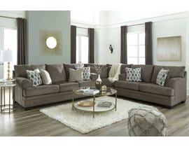 Signature Design by Ashley Dorsten series 3-piece fabric sectional in dark grey 77204