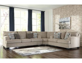 Signature Design by Ashley Dorsten Series 3-Piece Fabric Sectional in Sisal 77205