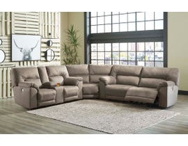 Signature Design by Ashley 3pc Sectional in Slate 77601-47-77-96