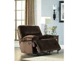 Signature Design by Ashley Brayburn Collection Fabric Power Reclining Chair in Brown 7770