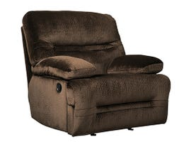 Signature Design by Ashley Brayburn Collection Fabric Manual Reclining Chair in Brown 7770