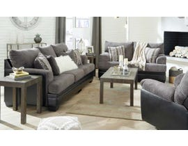 Signature Design by Ashley Millingar Series 3pc Fabric Sofa Set in Smoke 7820238