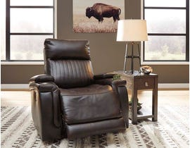 Signature Design by Ashley Team Time Series PWR Recliner/ADJ Headrest in Chocolate 7830413