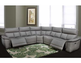 K Elite Rhonda Sectional in Taupe Grey