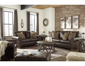 Signature Design by Ashley Nicorvo Collection 3 Pc Sofa Set in Coffee 80505