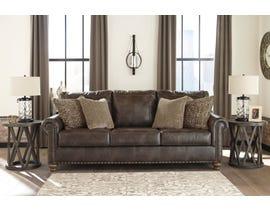 Signature Design by Ashley Nicorvo Collection Sofa in Coffee 80505