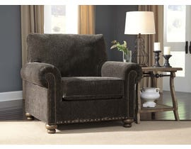 Signature Design by Ashley Stracelen Collection Fabric Chair in Sable 80603