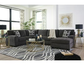 Signature Design by Ashley Ballinasloe Collection Sectional in Smoke 80703