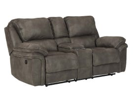 Signature Design by Ashley Trementon Series DBL Reclining Loveseat w/Console in Graphite 8090294