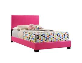 Global Furniture full bed pink 8103-P-FB