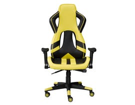 Brassex Gaming Chair in Yellow 8205-YL