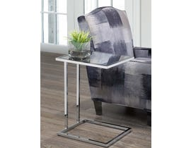 BRASSEX ACCENT SIDE TABLE Chrome 8205