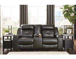 Signature Design by Ashley Reclining Loveseat with Console in Black 8210594