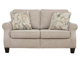 Signature Design by Ashley Alessio Series Loveseat in Beige 8240435