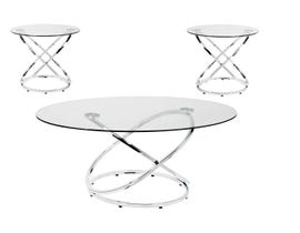 BRASSEX 3-PC COFFEE SET SILVER 8246-13
