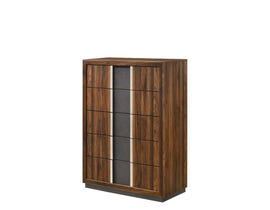 Lifestyle Sandra Series Chest in Walnut C8315A