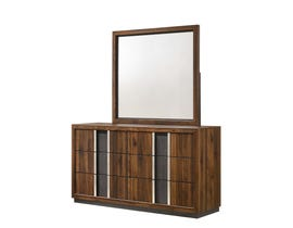 Lifestyle Sandra Series Dresser Set in Walnut C8315A