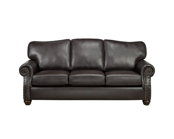 Miraculous Sofa By Fancy Heritage Leather Air Sofa In Brown 8350 Cjindustries Chair Design For Home Cjindustriesco